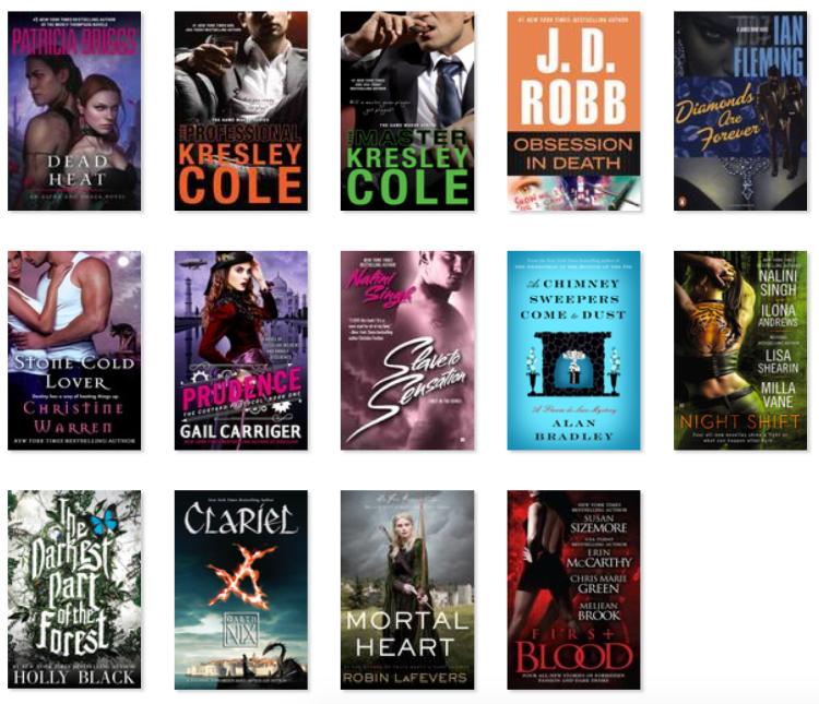 2016 Book list 1