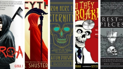 Top Ten Books Featuring Death
